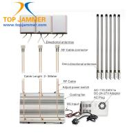Wholesale 6 Antennas 90W High Power Desktop Jammer Panel ANT Blocker 3G 4G LTE UHF VHF Radio 315 433 from china suppliers