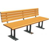 Wholesale Outdoor Recreation Center Recycled Park Bench Eco - Friendly Customizable Color from china suppliers