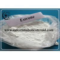 Wholesale 99.9% High Purity Estrone Steroid Powder Raw Estradiol Hormone CAS 53-16-7 from china suppliers