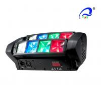 Wholesale LED Graphic Display Mini Beam Spider Moving Head Light Adjustable Speed Strobe from china suppliers