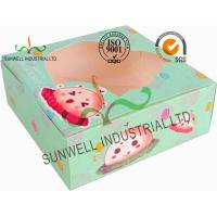 Wholesale Disposable Cardboard Food Packaging Boxes , Personalised Cardboard Takeaway Boxes from china suppliers