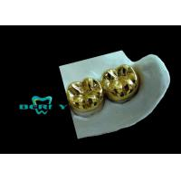Wholesale Yellow Gold Full Cast Metal Crown High Casting Accuracy ISO13485 from china suppliers