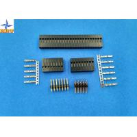 Wholesale Dual Row Wire To Board Connector 2.54mm Pitch Crimp Connectors With Bump Lock from china suppliers