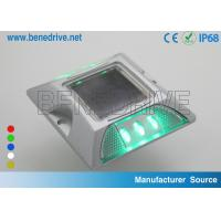 Wholesale LED Barricade Light Double Side Reflectors , Solar Powered Barricade Flashers from china suppliers