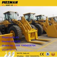 Wholesale brand new SDLG  loader heavy equipment  LG918 with pallet forks, front loader equipment with loader attachment tools from china suppliers