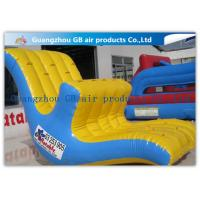 Wholesale Floating Inflatable Water Game Water Seesaw Toys Moving Up And Down In Lake / Ocean from china suppliers