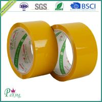 Quality Factory Sell Directly Yellowish BOPP Adhesive Packing Tape (P010) for sale