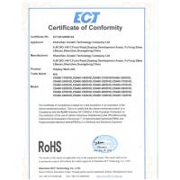 Shenzhen Boyou Technology Co., LTD. Certifications