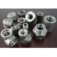 Buy cheap thread  pipe fittings tee elbow union coupling B16.11 from wholesalers