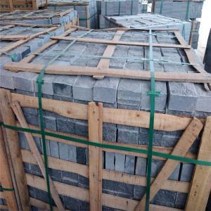 Wholesale China Granite Dark Grey G654 Granite Cube Stone Paving Stone Natural Surface 10x10x5cm from china suppliers