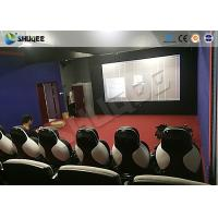 Wholesale Park 9D Moive Theater Cinema Seat With Electric / Pneumatic System from china suppliers