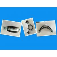 Wholesale 1.8 mm / 2.0 mm Thick Rubber Pipe Clamp For Heating / Sanitary Pipe Lines from china suppliers