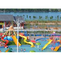 Wholesale Attractive Kids' Water Slides , Aqua Play Equipment Fiberglass Pool Slide from china suppliers