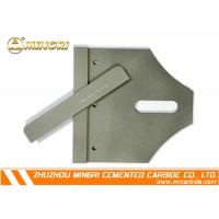 Wholesale Flat tungsten scraper For Conveyyor Belt , Tungsten Carbide Scraper from china suppliers
