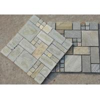 Wholesale Oyster Quartzite Mosaic,Natural Stone Mosaic Pattern,Quartzite Mosaic Wall Tiles,Interior Stone Mosaic from china suppliers