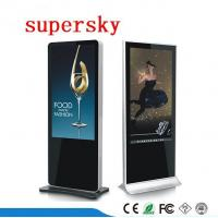 Wholesale Indoor Lcd Advertising Display Screen Free Standing Digital Display With USB WIFI from china suppliers