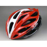 Quality 260G Red Adult Bicycle Helmet Specialized Anti - Impact Eps / Pc Shell for sale