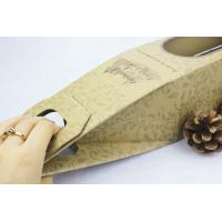 Wholesale Premium promotional  creative Paper Gift Boxes for red wine , easy taking from china suppliers