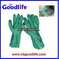 Wholesale pvc coated working gloves pvc gloves with long sleeve from china suppliers