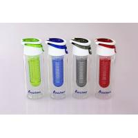 Wholesale water bottle with fruit infuser from china suppliers