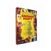 Wholesale Supply New Release Cartoon Disney Dvd Movie :  Sausage Party DHL Free Shipping