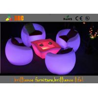 Wholesale High Top LED Cocktail Table For Events , LED Illuminated Cocktail Table from china suppliers