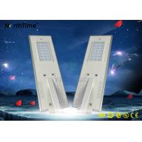 Wholesale Aluminum Alloy All In One Solar Powered Outdoor Lights Auto ON / OFF with Li Fe Battery from china suppliers