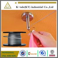 Wholesale promotion stock galvanized Aircraft Cable / steel wire rope for  fixed from china suppliers
