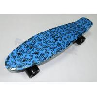 Wholesale 60mm PU Wheels Plastic Fish Long Skateboards Diamond PP Deck Penny Skate Board from china suppliers