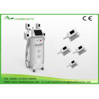 Wholesale Vertical 2000W fat freeze Cryolipolysis slimming machine with 4 handles cooling scupting machine from china suppliers