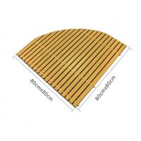 Anti-slip Wpc Decking Board Composite Deck Boards Embossing Bashroom Wood Mat