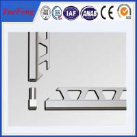 Wholesale OEM ceramic tile corner trim supplier, brushed aluminium trim profiles factory from china suppliers