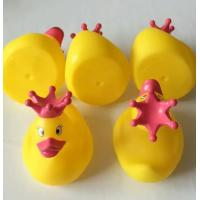 China Dot Crown Princess Christmas Rubber Duck Toy For 3 Year Olds Bath Time on sale