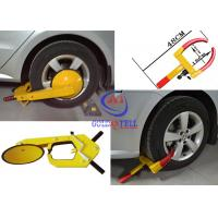 Wholesale Heavy Duty Security Car Wheel Clamp , Water proof vehicle wheel clamps for cars from china suppliers