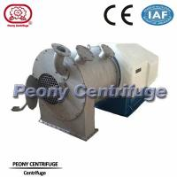 Wholesale High Efficiency Salt Centrifuge Machine Continuous Salt Pusher Centrifuge Separator from china suppliers
