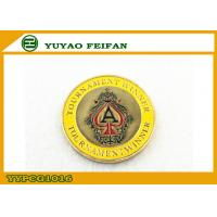 Wholesale Tournament Winner Bronze Funny Poker Chips In Center Yellow Surround Edge from china suppliers
