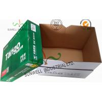 Wholesale Corrugated Cardboard packaging Office Paper Box With Handle Practical Essential B Flute from china suppliers