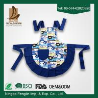 Wholesale Customized Bib Cotton Kitchen Apron , Cute Kids Cooking Aprons from china suppliers