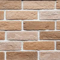 Quality manufactured brick veneer craft brick for wall cladding, light weight , easy installation for sale