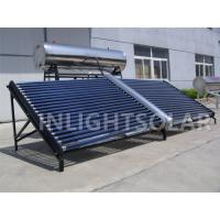 Wholesale 500L Thermosyphon open loop stainless steel low pressure solar water heater from china suppliers