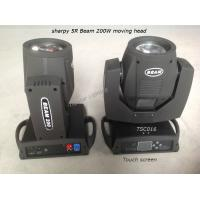 Quality High Speed Beam 200 Sharpy Moving Head Light Portable Stage Lighting USD269 for sale