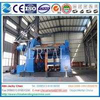 Wholesale CE Standard Hydraulic CNC Plate Rolling Machine /4 Roll Plate Rolling Machine with from china suppliers