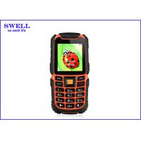 Wholesale Waterproof Mobile Phones rugged Mobile phone mtk6260A MSM FM MP3 GPS from china suppliers
