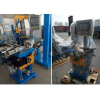 Wholesale Brazing center automatic feeding solder, brushing flux,rotate saw blade welding machine from china suppliers