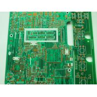 Wholesale 1.6mm FR4 Single Sided PCB with ENIG surface finish and gold finger for automobile application from china suppliers