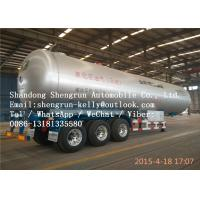 Wholesale FUWA / BPW Tri Axle lpg tanker trailer with Mechanical suspension CCC / ISO from china suppliers