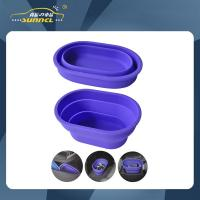 Wholesale More Color Choice Foldable Silicon Car Trash Can , Car Storage Bag from china suppliers