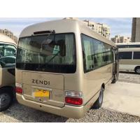 Wholesale engine 6 cylinder   japan coaster bus toyota 23 seats used Toyota diesel coaster bus left hand drive from china suppliers
