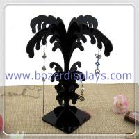 Wholesale Black Acrylic Earring Stand Tree Display Stand Earring Tree Jewelry Display Stands from china suppliers