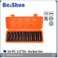 """Wholesale 10pcs 3/4"""" socket set from china suppliers"""